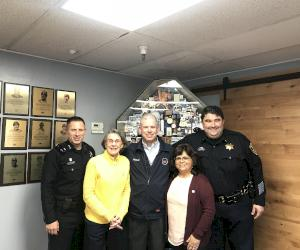 AB&I hosts tour for Oakland Police Department | Futurecom
